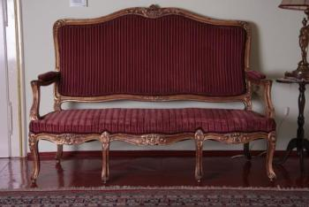 Sofa - solid oak - 1780
